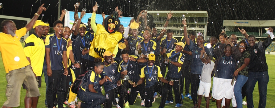 Congratulations to the UWI Blackbirds on their hat-trick of titles in the Barbados Cricket Association's Sagicor General Twenty20 competition.