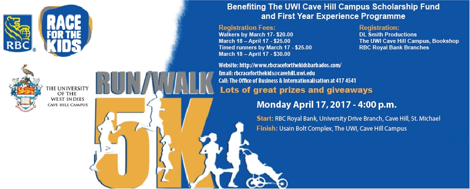 RBC Race for the Kids in partnership with The UWI